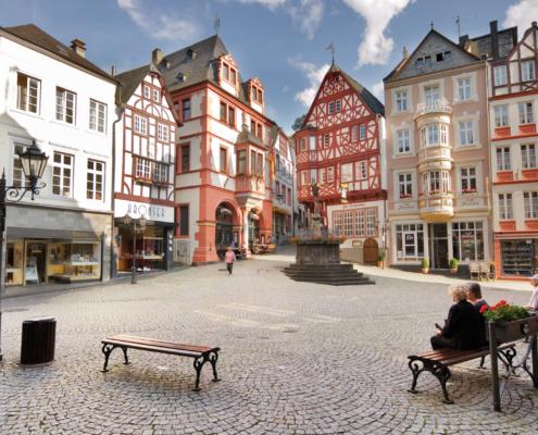 Mosel-Herberge Marktplatz Bernkastel