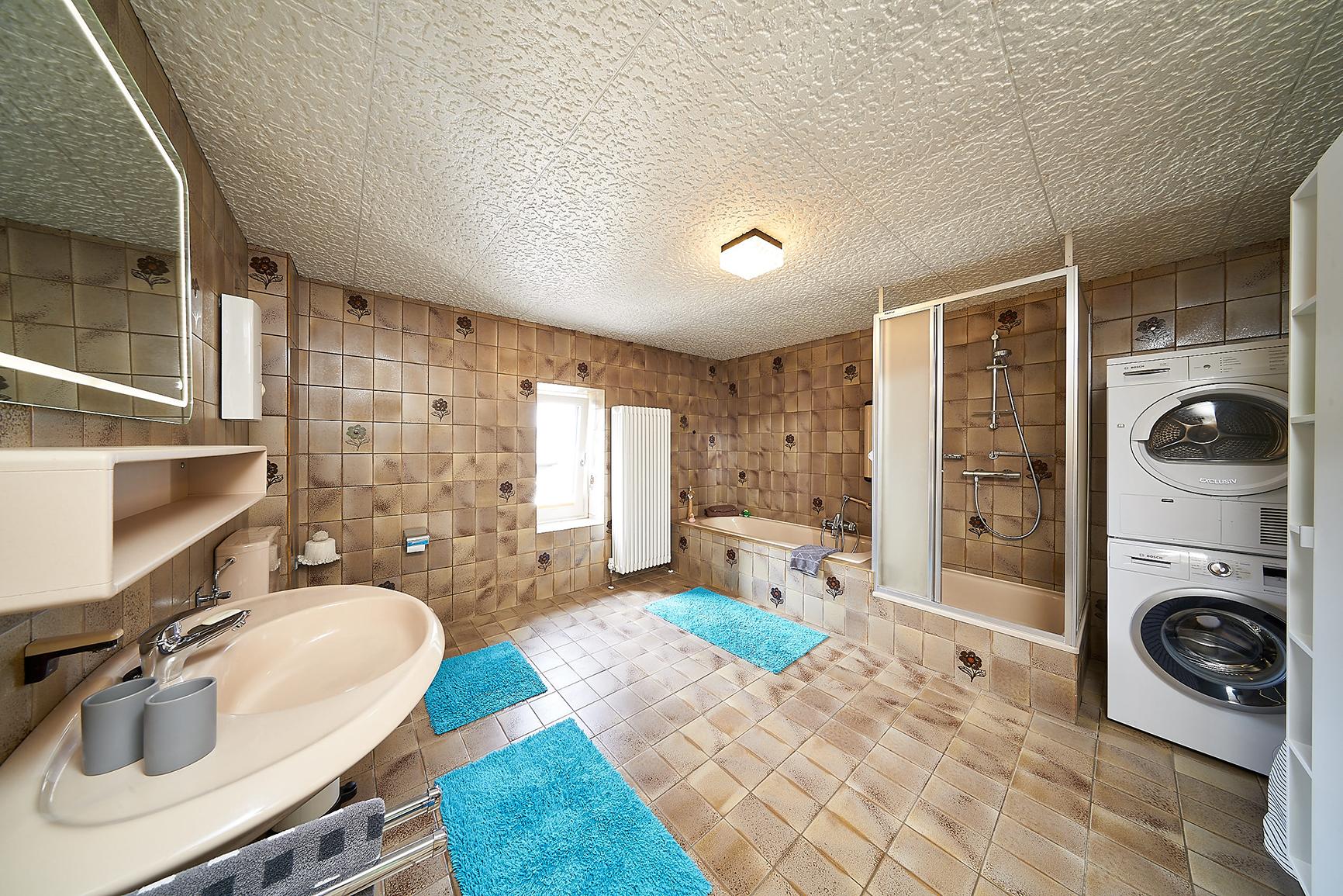 Ferienhaus Mosel-Herberge Badezimmer