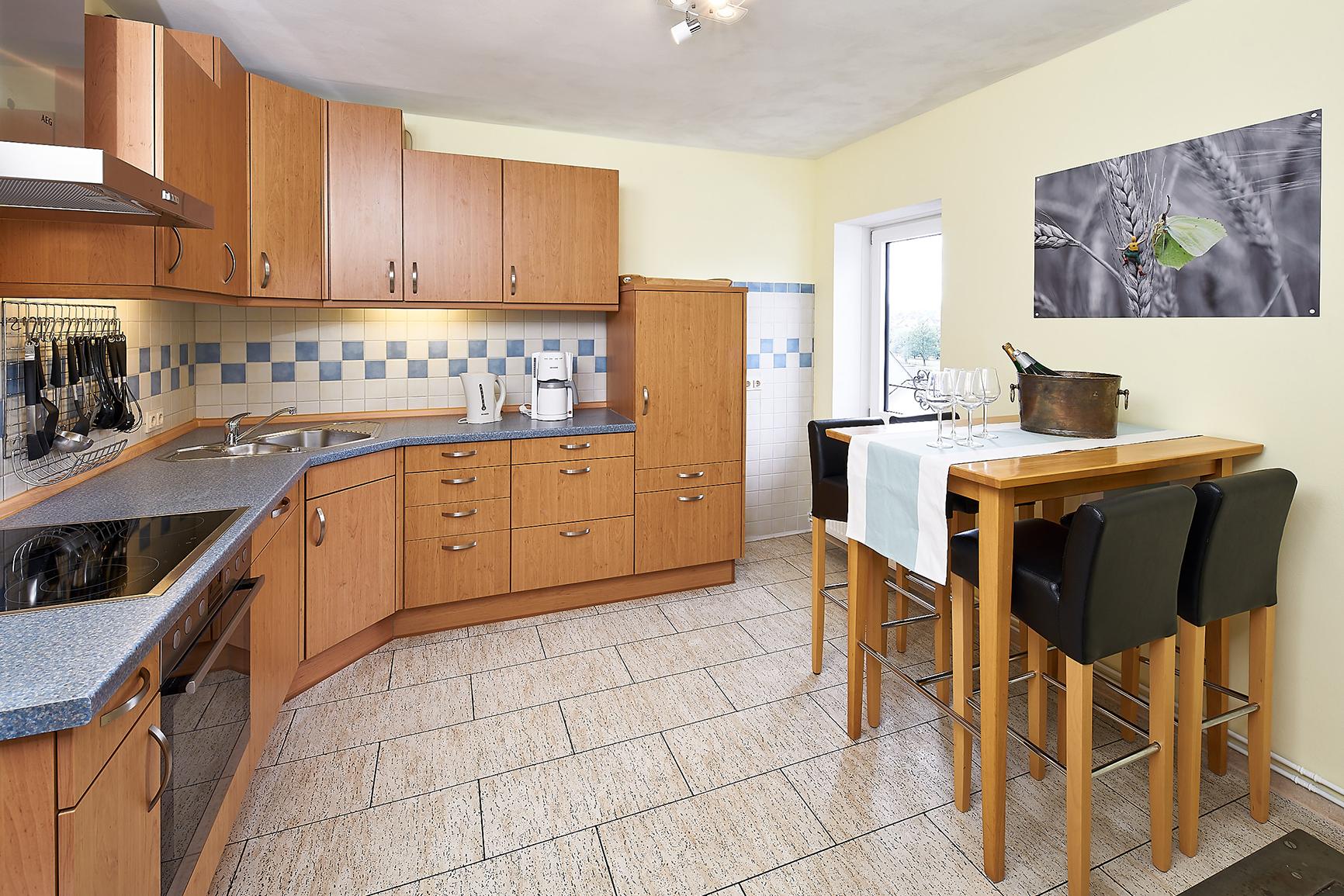 Ferienhaus Mosel-Herberge Küche