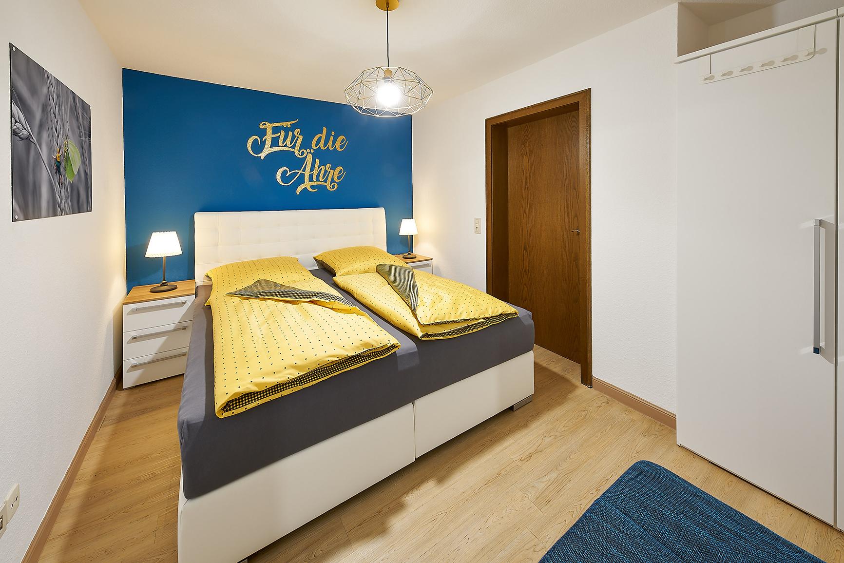 Ferienhaus Mosel-Herberge Schlafzimmer Für die Ähre