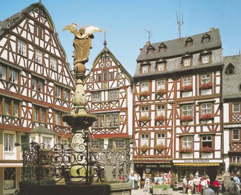Mosel-Herberge Marktplatz Bernkastel-Kues