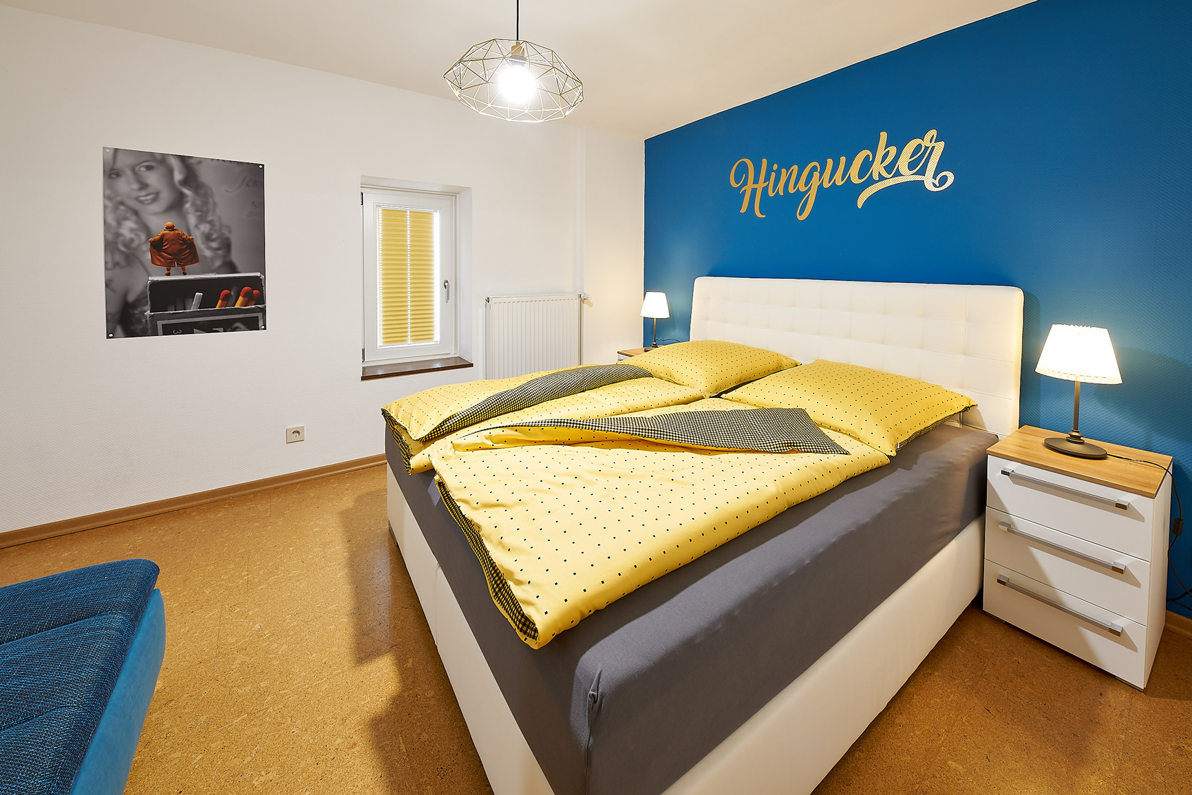 Mosel-Herberge Schlafzimmer Hingucker